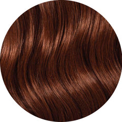 "Mulberry Clip In Hair Extensions Copper 20"" Colour Swatch"