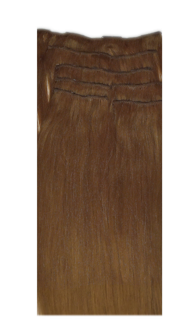 Mulberry Clip In Hair Extensions Copper 20""