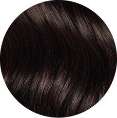 "Mulberry Clip In Hair Extensions Mocha Brown 20"" Colour Swatch"