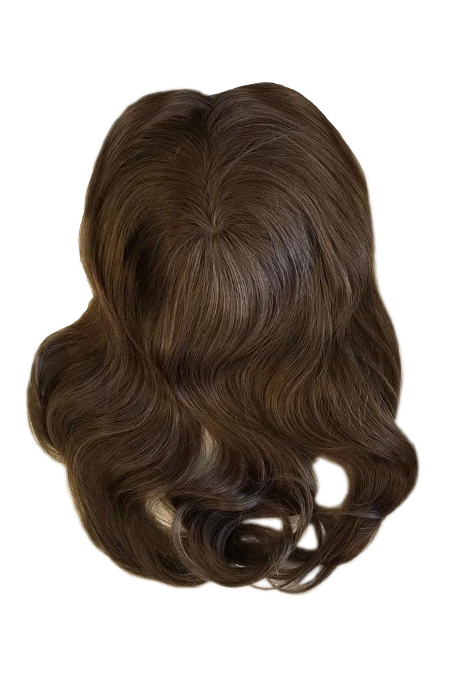 Mulberry Topper Chocolate Brown Hair Extensions  20""