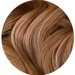 "Mulberry Clip In Hair Extensions Chestnut Brown  20"" Colour Swatch"