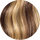 #4/16/613 Medium Brown and Light Blonde Volume Weft: