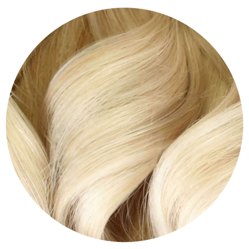 "Mulberry Halo Hair Extensions Blonde 20"" Colour Swatch"