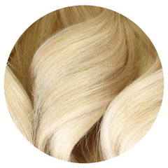 "Mulberry Clip In Hair Extensions Blonde 20"" Colour Swatch"