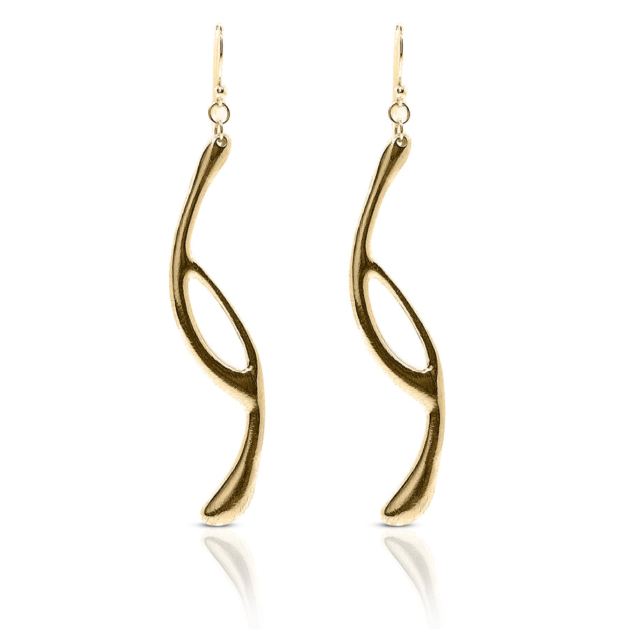 intersect earrings