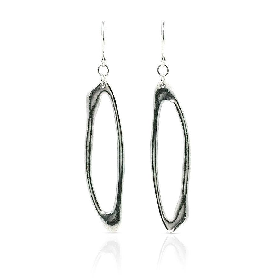 slim hoop earrings