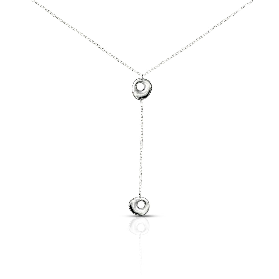 Y circles necklace