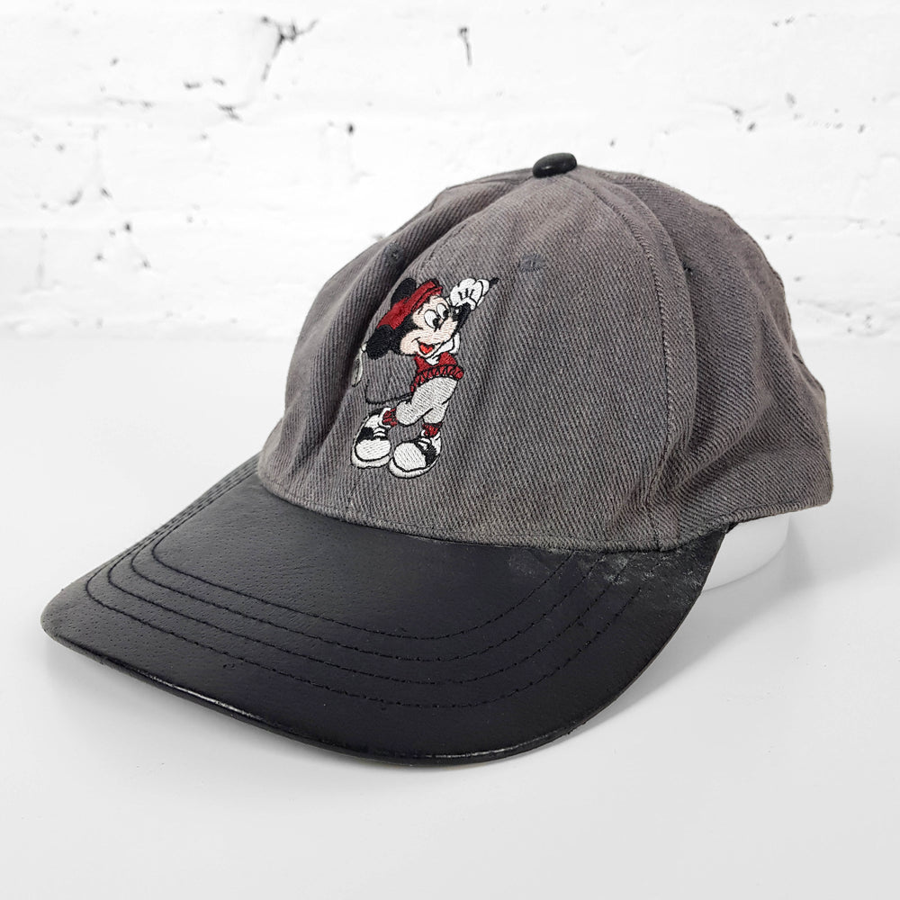 Vintage Mickey Mouse Cap - Grey