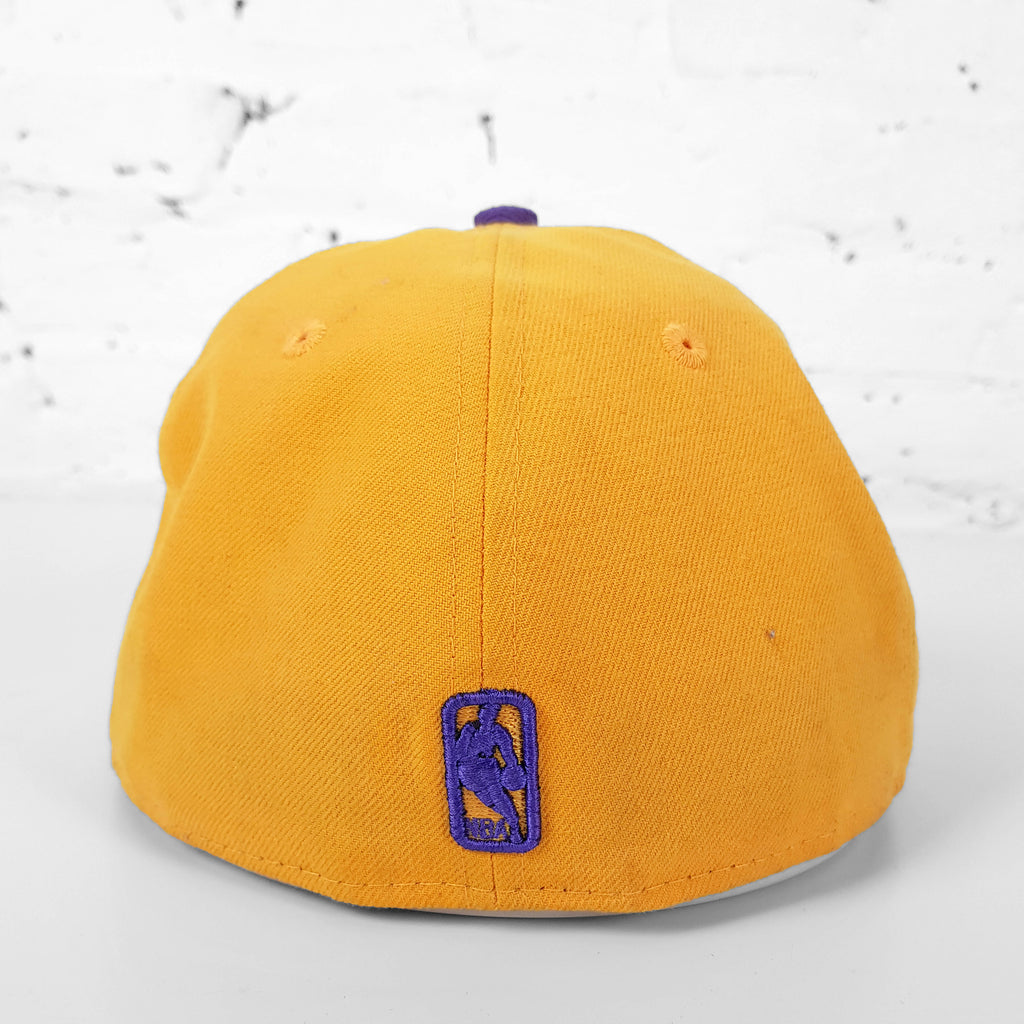 Vintage NBA Los Angeles Lakers Cap - Yellow/Purple - Headlock