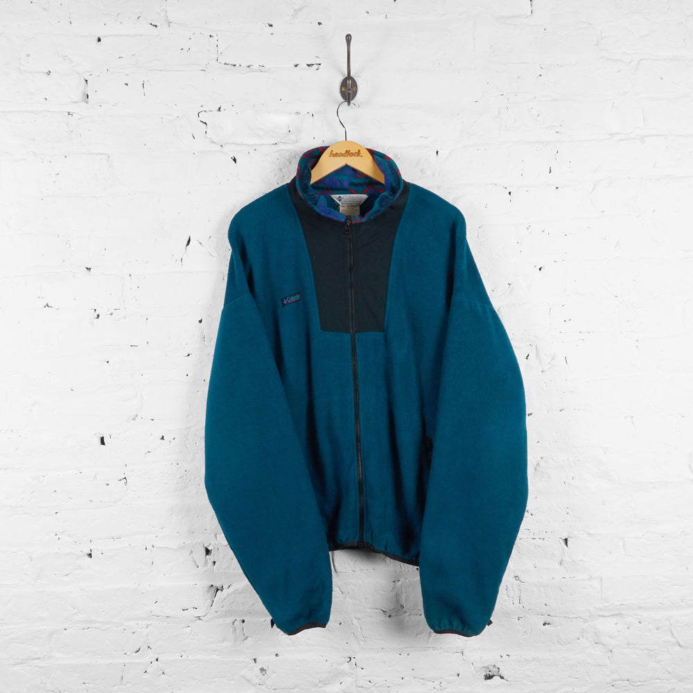 Vintage Columbia Fleece - Green - XL