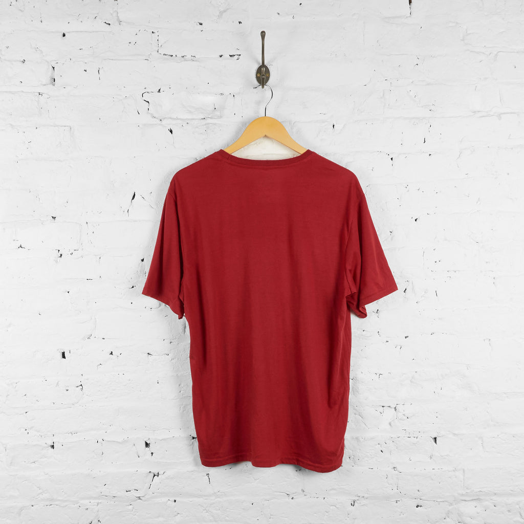 Vintage The North Face T-Shirt - Red - L