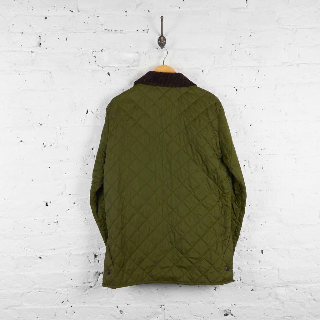 Vintage Quilted Barbour Jacket - Green - L - Headlock