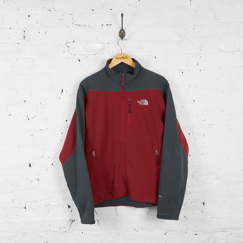 Vintage The North Face Jacket - Red/Grey - M