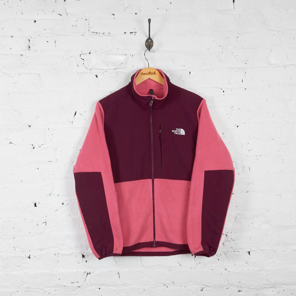 Vintage The North Face Denali Women's Fleece - Pink/Purple - L