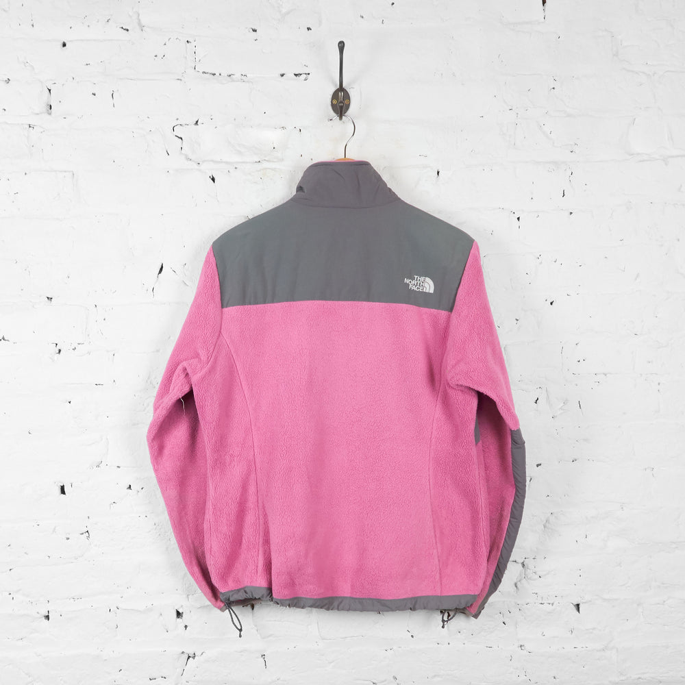 Vintage The North Face Denali Women's Fleece - Pink/Grey - L