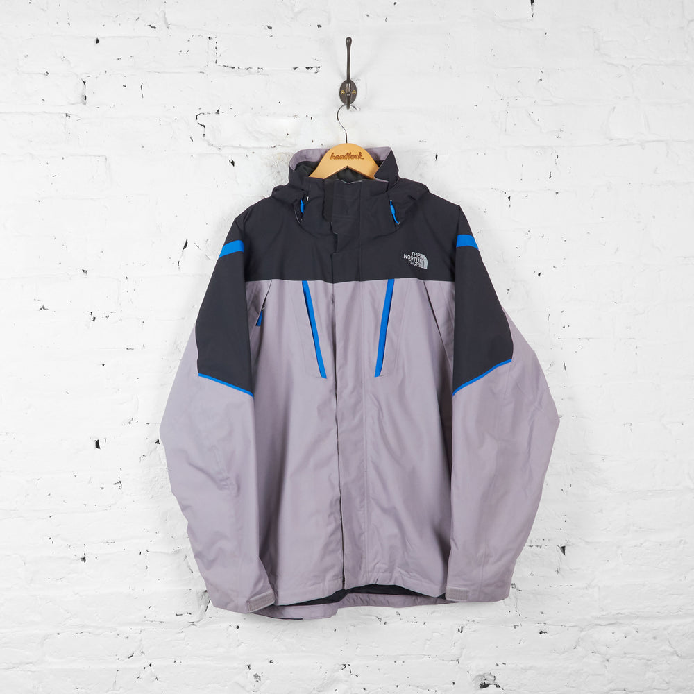 Vintage The North Face Jacket - Grey/Black/Blue - L