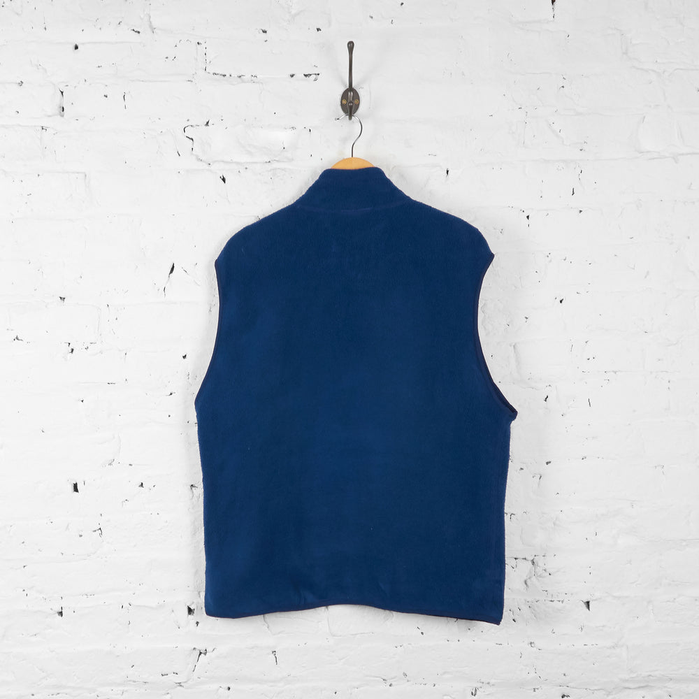 Vintage Patagonia Sleeveless Fleece - Blue - L