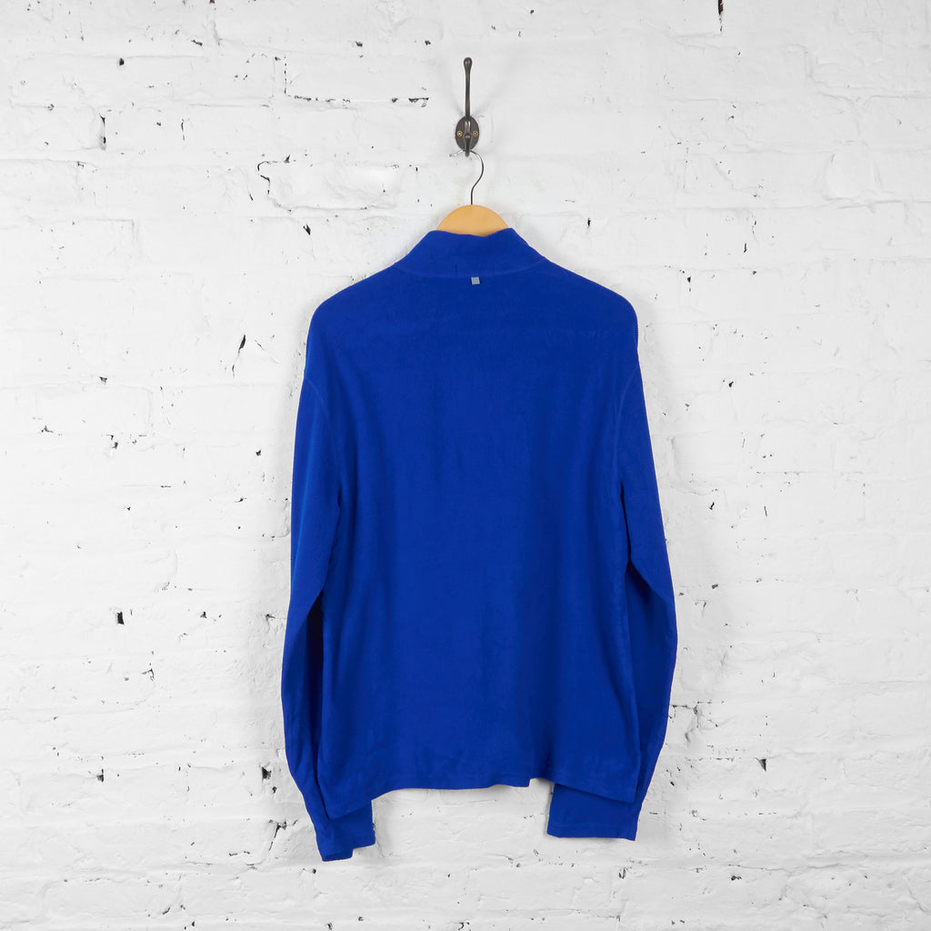 Vintage Ralph Lauren Polo 1/4 Zip Up Fleece - Blue - XL