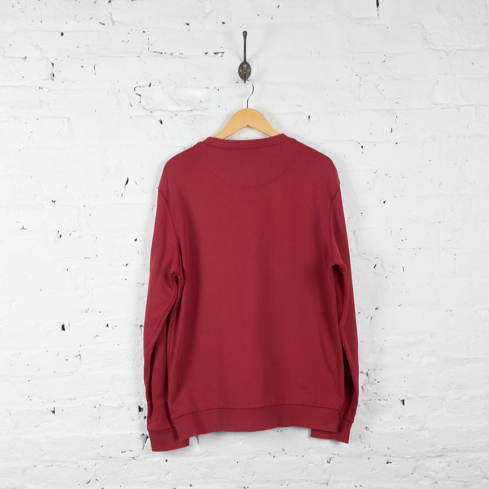 Vintage Hugo Boss Sweatshirt - Red - L