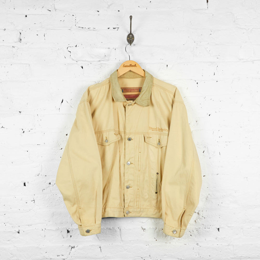 Vintage Diesel Industry Denim Jacket - Cream - M