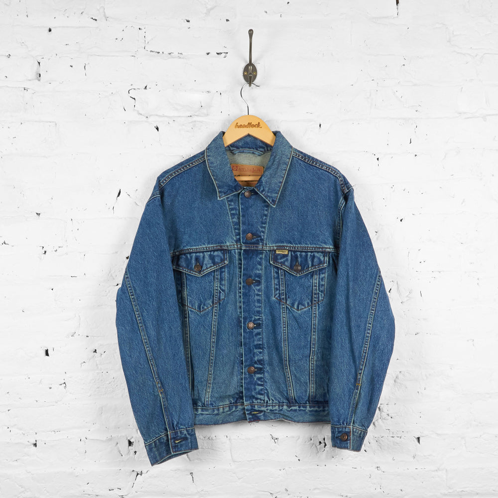 Vintage Levi's Signature Denim Jacket - Blue - M