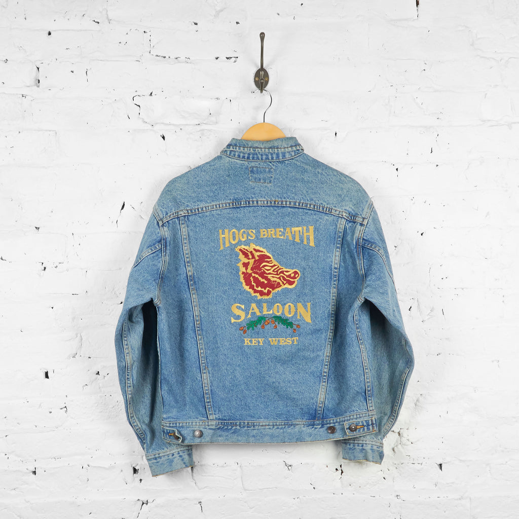 Vintage Lee Saloon Denim Jacket - Blue - M