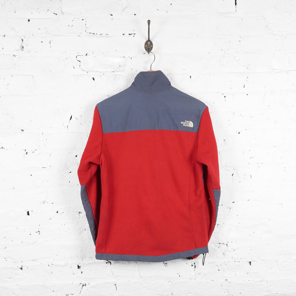 Vintage Women's The North Face Denali Fleece - Red/Grey - M