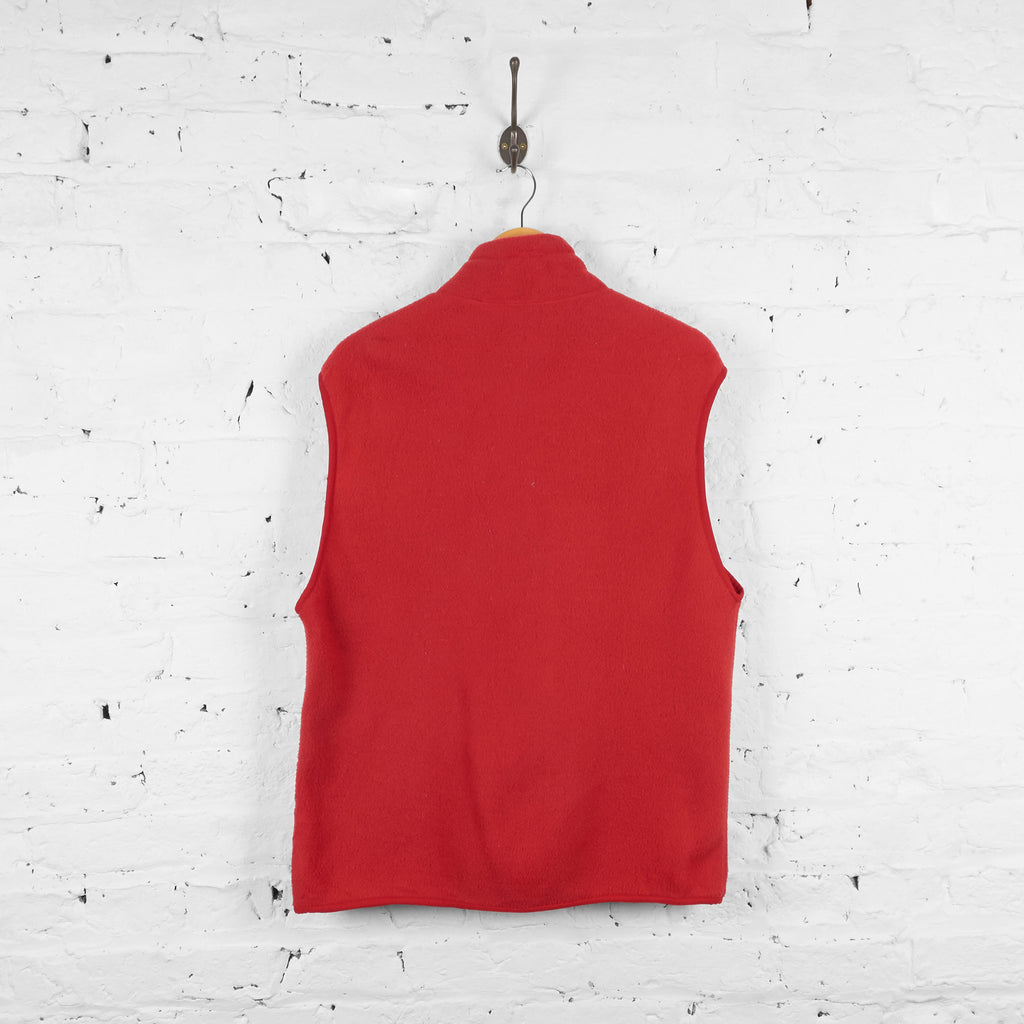 Vintage Patagonia Sleeveless Fleece - Red - L