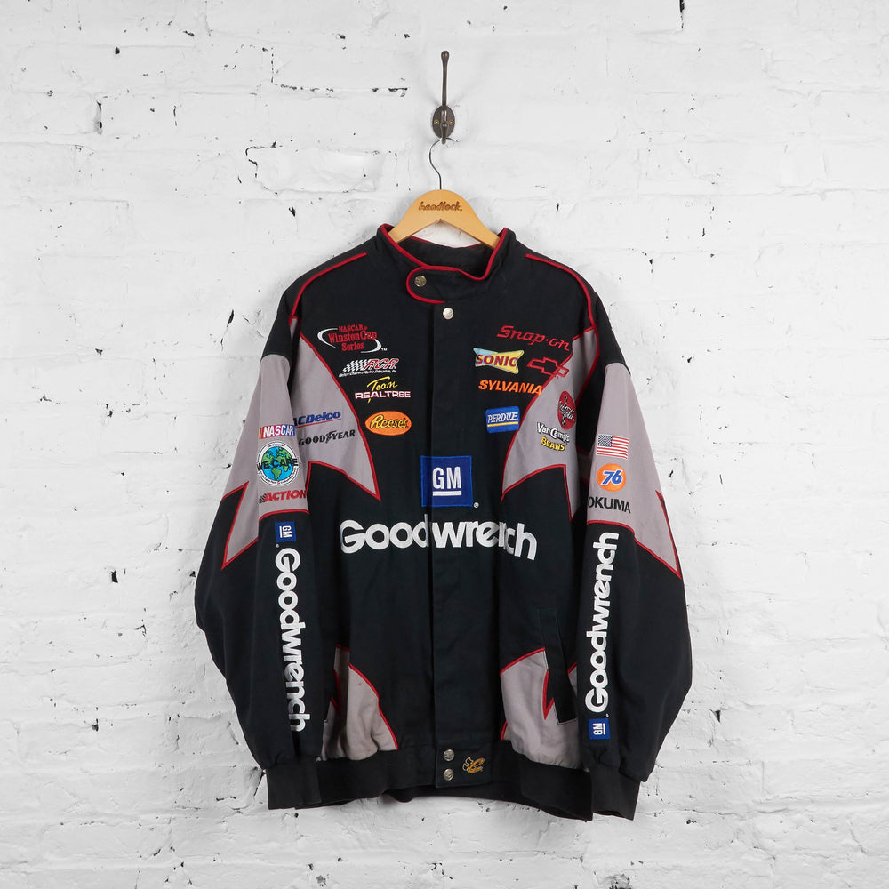Vintage Nascar Racing Jacket - Black - XXL