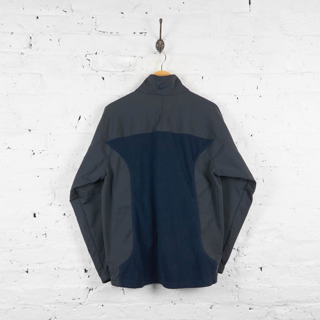 Vintage Nike Jacket - Navy/Grey - M