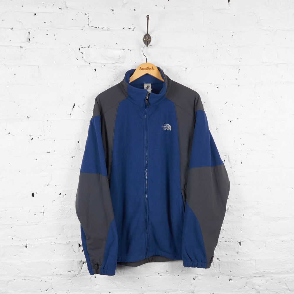 Vintage The North Face Fleece - Navy/Grey - XL