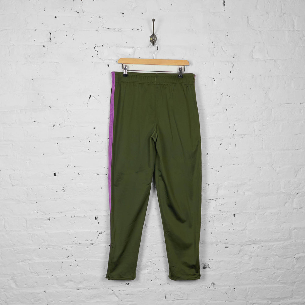 Vintage Umbro Tracksuit Bottoms - Green/Purple - XL