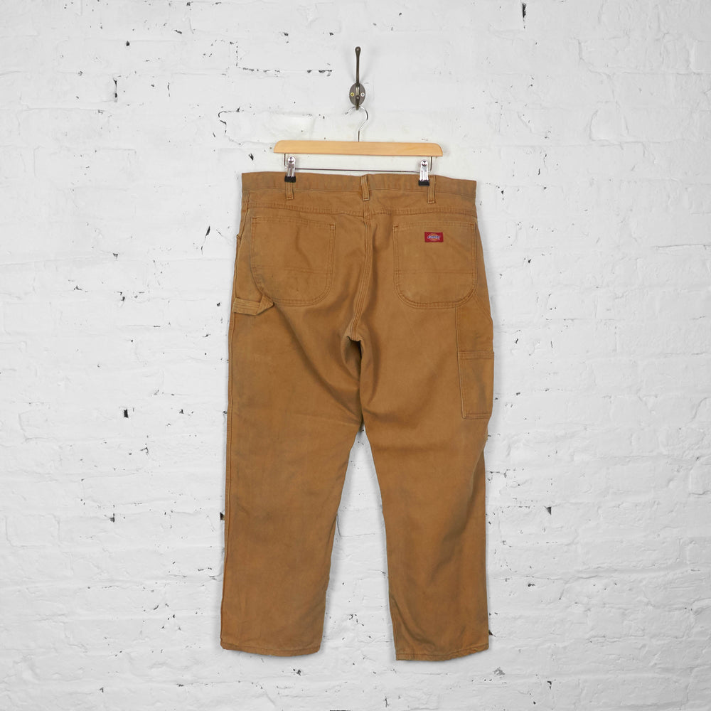 Vintage Dickies Cargo Jeans - Brown - XL