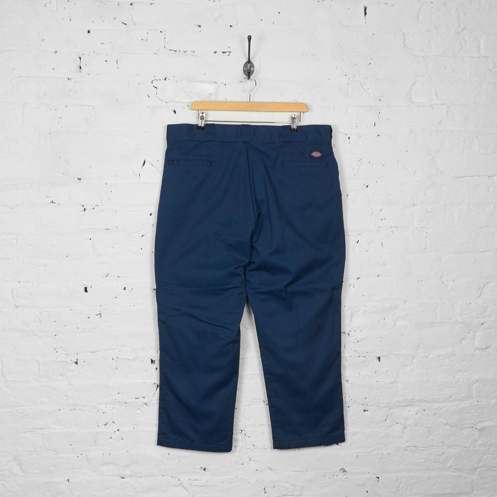 Vintage Chino Dickies Trousers - Navy - XXL