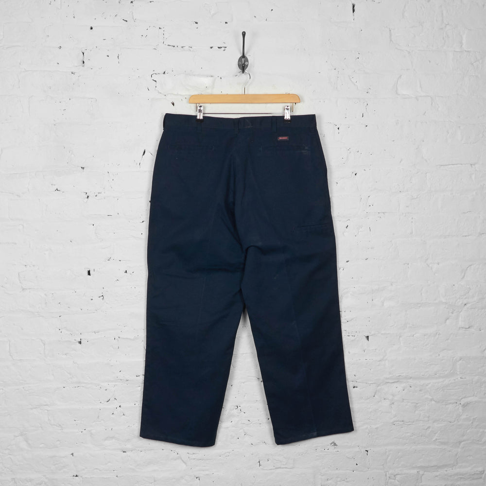Vintage Dickies Chino Trousers - Navy - XL