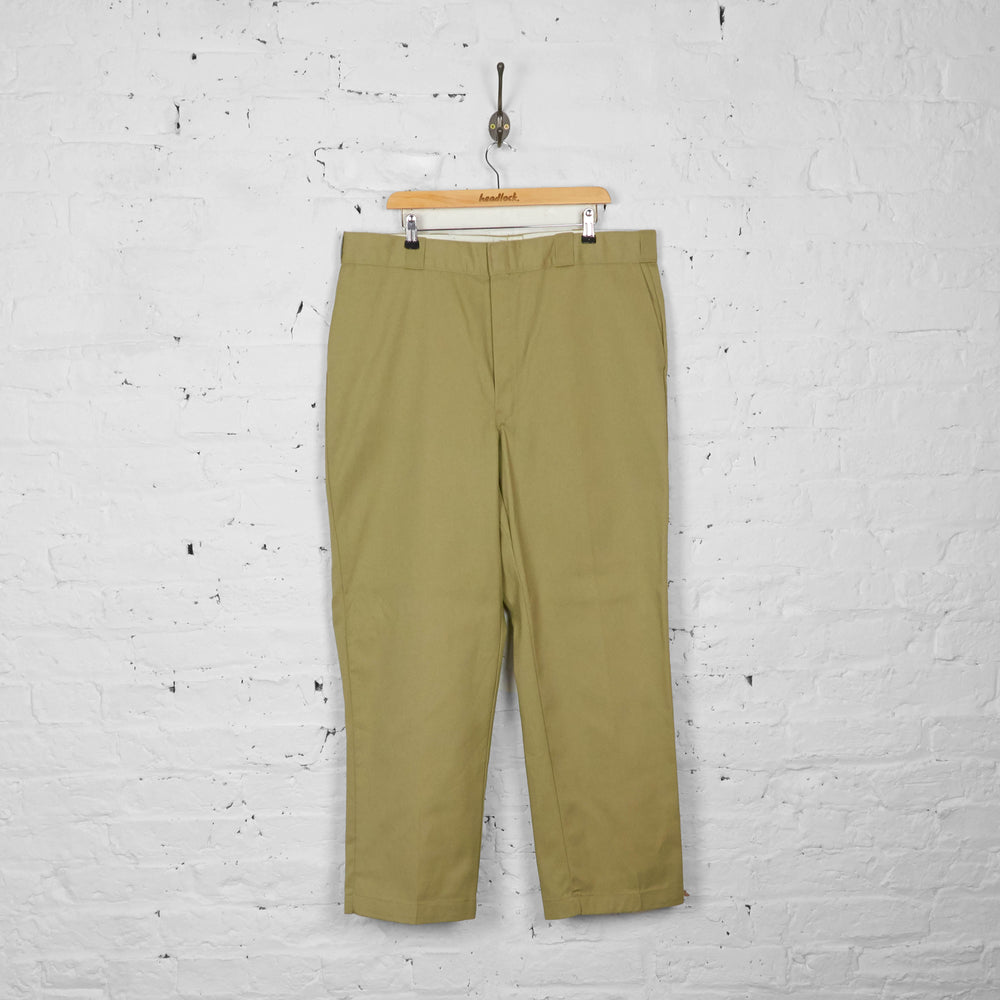 Vintage Dickies Chino Trousers - Cream - XXL