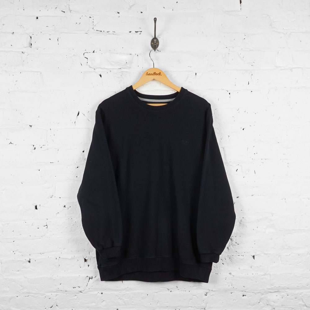 Vintage Hugo Boss Sweatshirt - Black - L