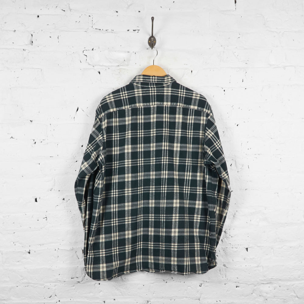 Vintage Polo Sport Checked Shirt - Black/White - XL