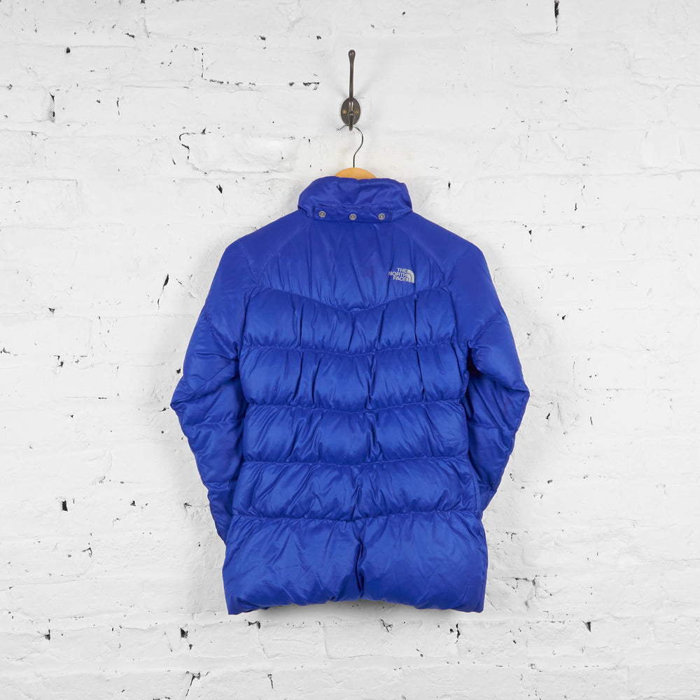 Vintage Women's The North Face Puffa Jacket - Blue - XS