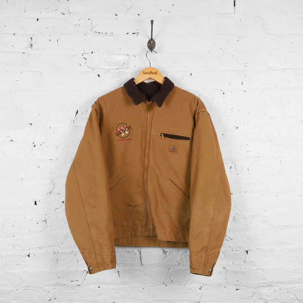 Vintage Ranch Carhartt Jacket - Brown - M