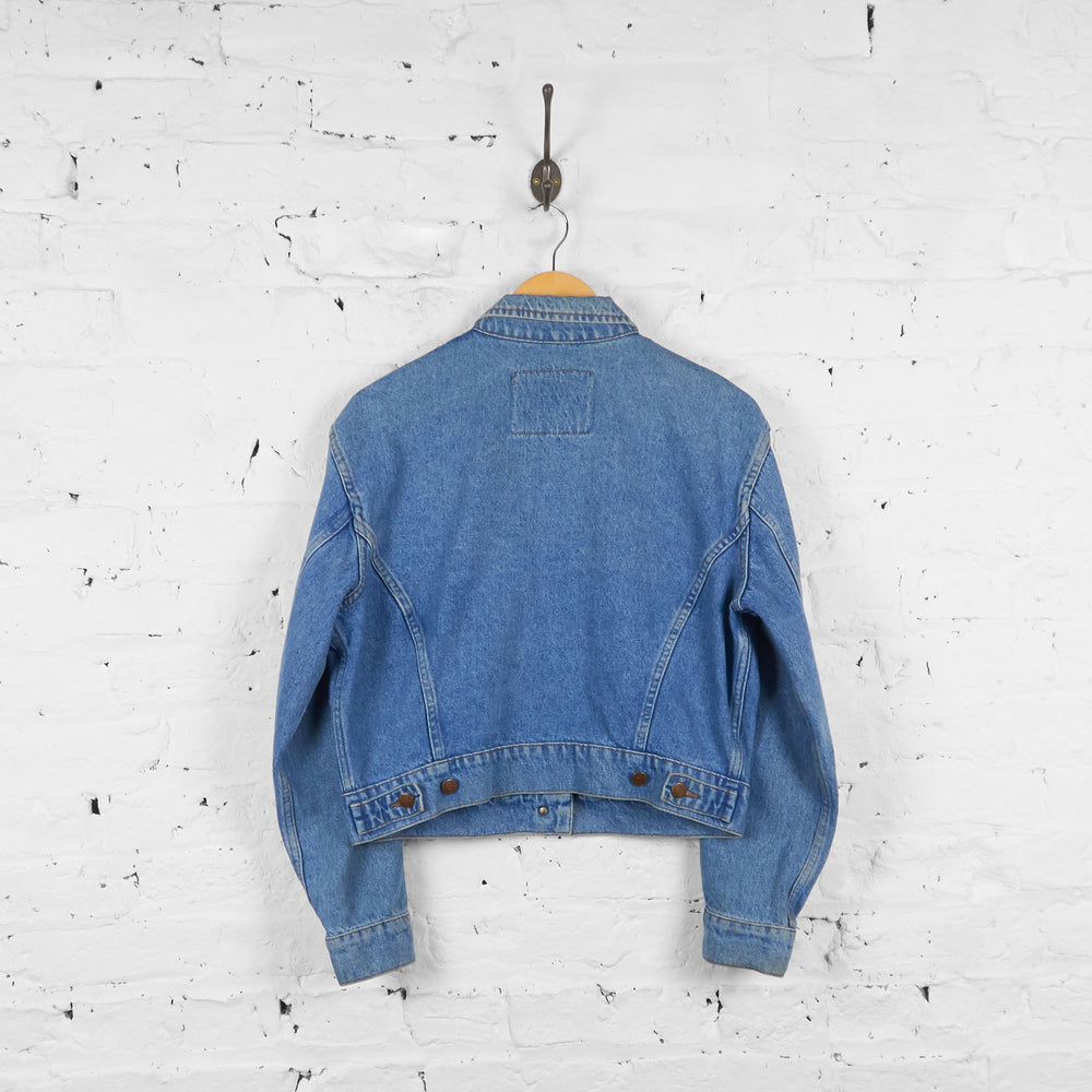 Vintage Valentino Jeans Denim Jacket - Blue - S