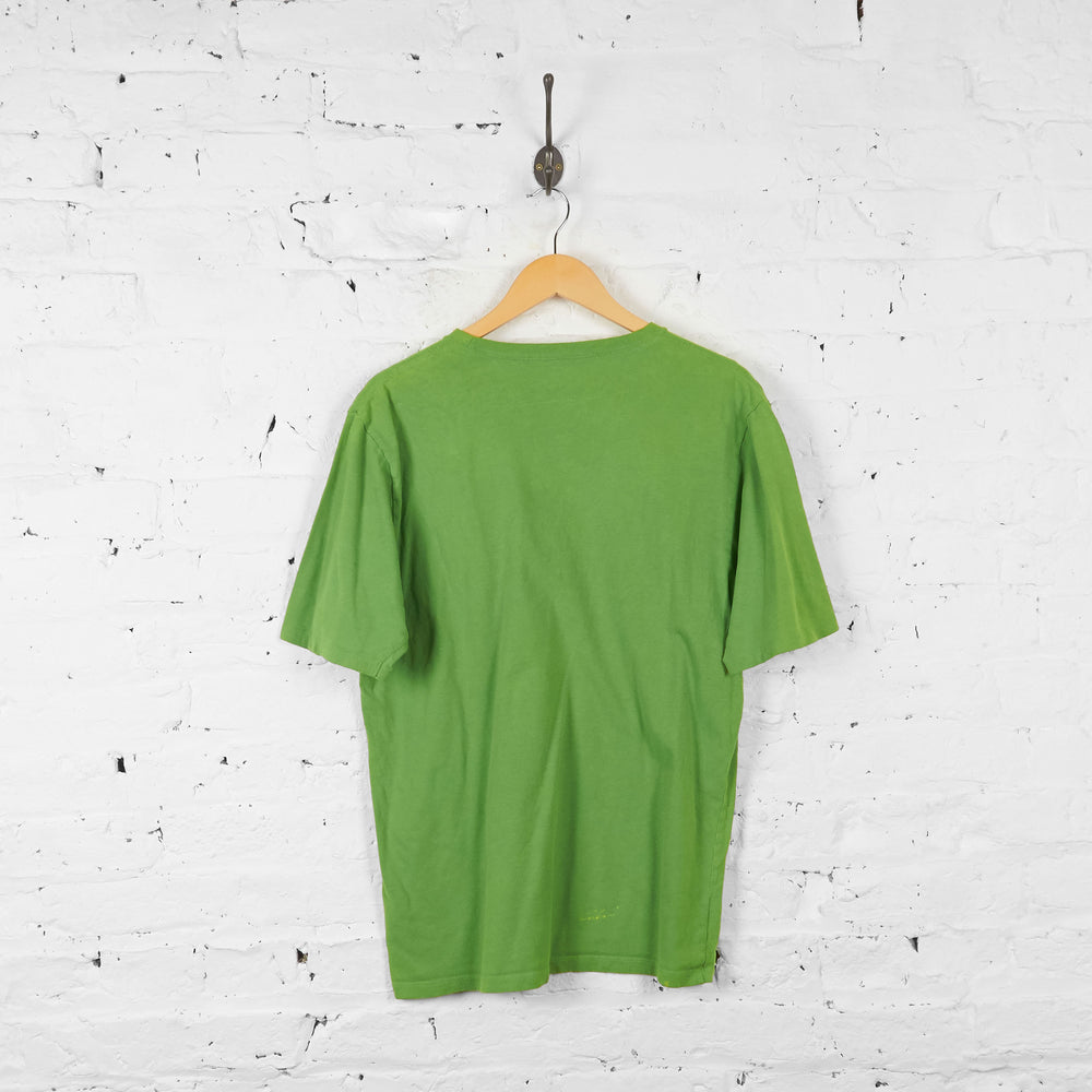 Vintage The North Face T-shirt - Green - M