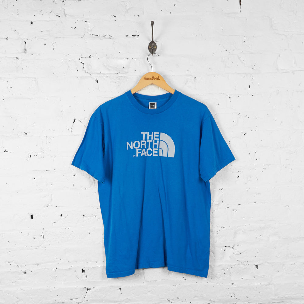 Vintage The North Face T-shirt - Blue - M