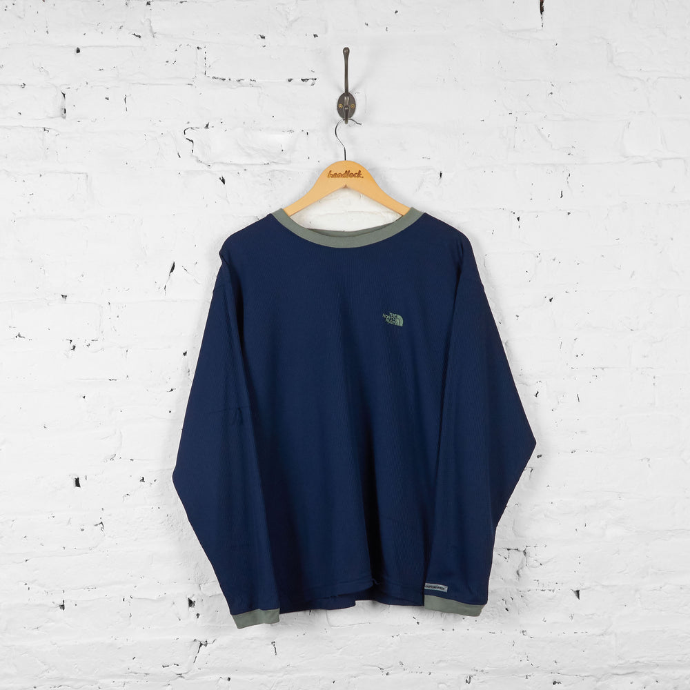 Vintage The North Face T-shirt - Navy - L