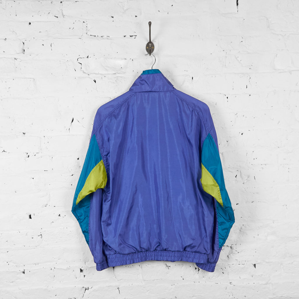 Vintage Puma Shell Jacket - Purple/Blue/Green - S