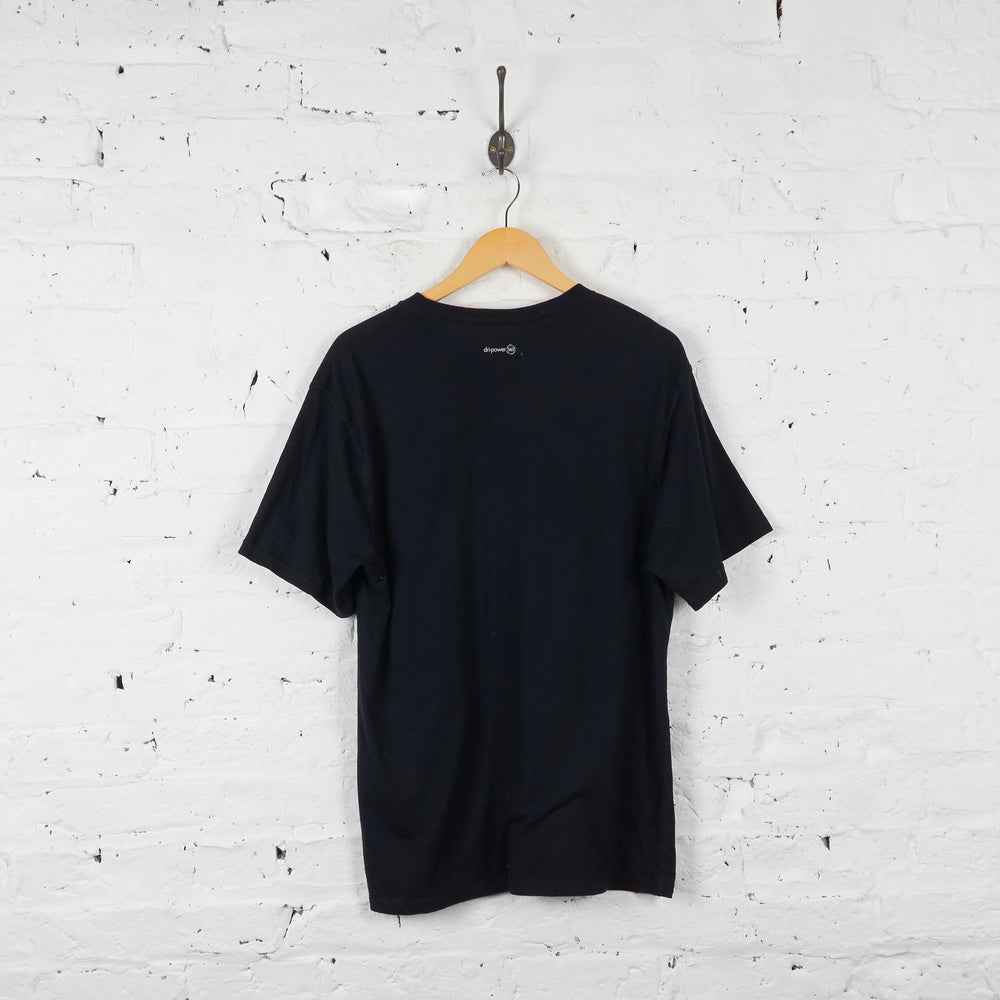 Vintage Russell Athletic T-shirt - Black - XL