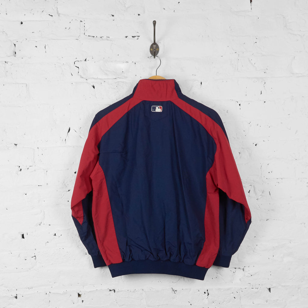 Vintage Women's Minnesota Twins Baseball Bomber Jacket - Navy/Red - S