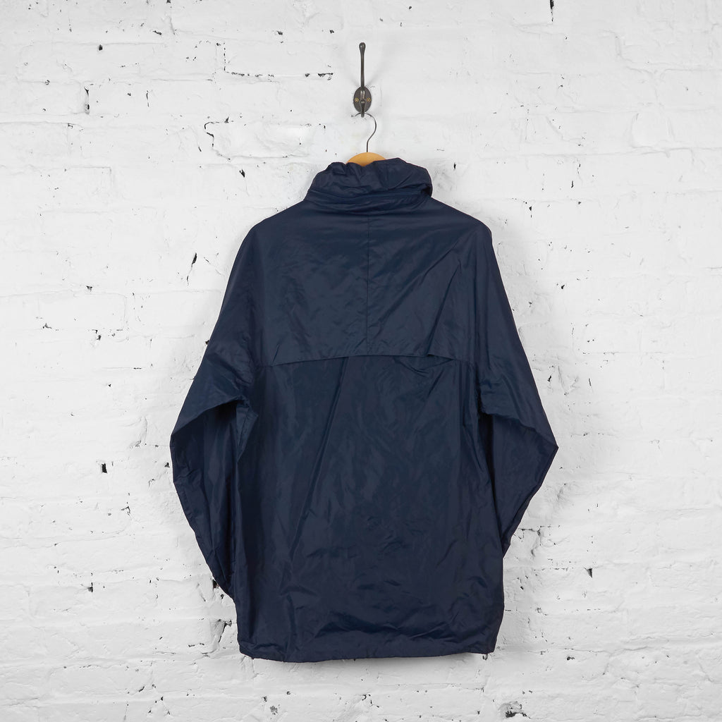 Vintage K-Way Cagoule Jacket - Navy - L