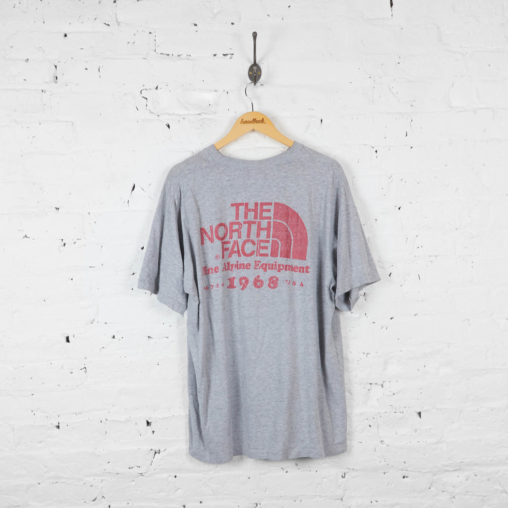 Vintage The North Face T-shirt - Grey - XL