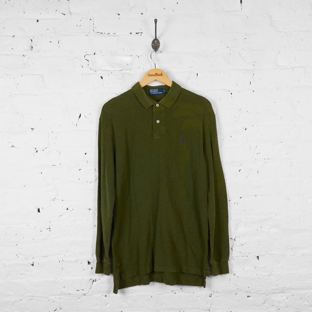 Vintage Ralph Lauren Polo Shirt - Green - M